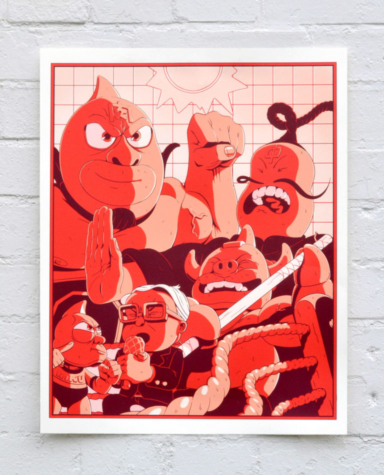 Ramen Rumble – Screen Print