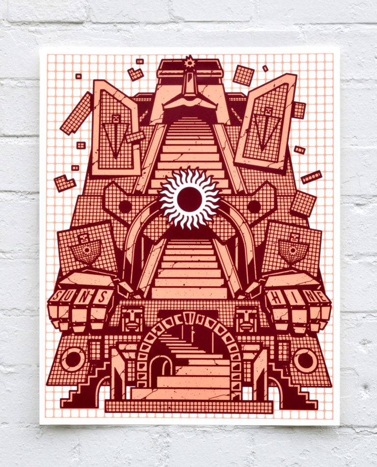 Sunshrine – Screen Print