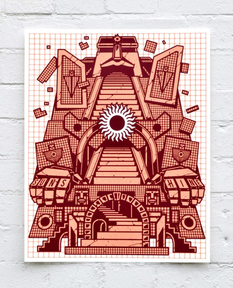 Sunshrine – Screen Print